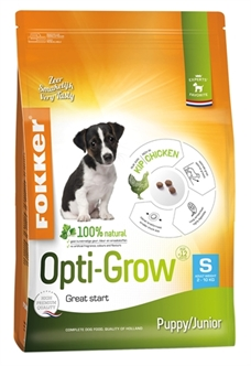 FOKKER OPTI-GROW PUPPY / JUNIOR SMALL 2,5 KG