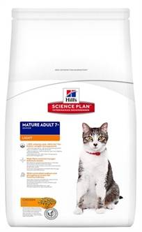 HILL'S FELINE MATURE LIGHT KIP 1,5 KG