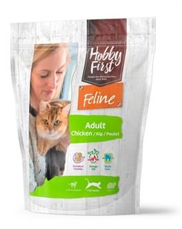 HOBBYFIRST FELINE ADULT CHICKEN 800 GR OF 1.5KG