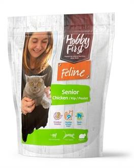 HOBBYFIRST FELINE SENIOR CHICKEN 800GR OF 1.5KG