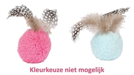 HAPPY PET DOTTIES BAL MET VEREN ASSORTI 5X5X9 CM