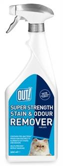 OUT! SUPER STRENGHT STAIN & ODOUR REMOVER 500ML