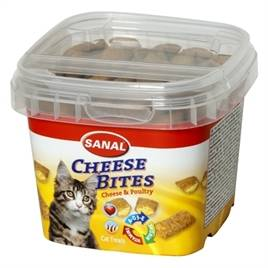SANAL CAT CHEESE BITES CUP 75 GR