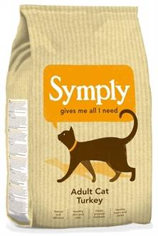 SYMPLY CAT ADULT KATTENVOER KALKOEN 1,5 KG OF 4KG (PROMO)