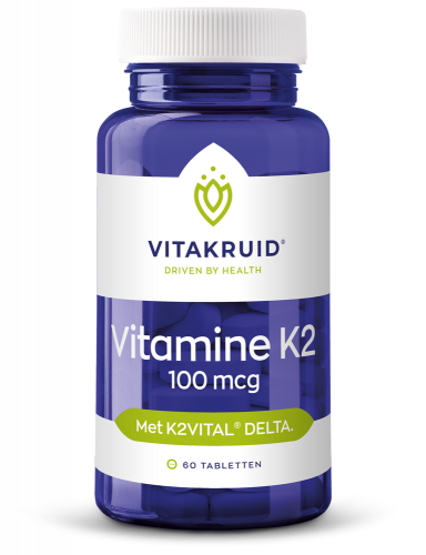 Vitamine K2 100 mcg - 60 tabletten - 10% korting