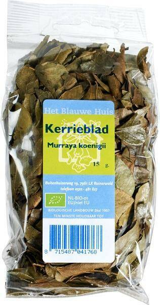 Kerrieblad 15g bio