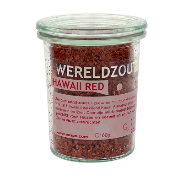 Hawaii Red zout zongedroogd