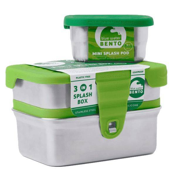 ECO Splash box -3 in 1 | Blue Water Bento