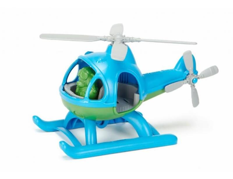 Helikopter blauw - gerecycled | Green Toys
