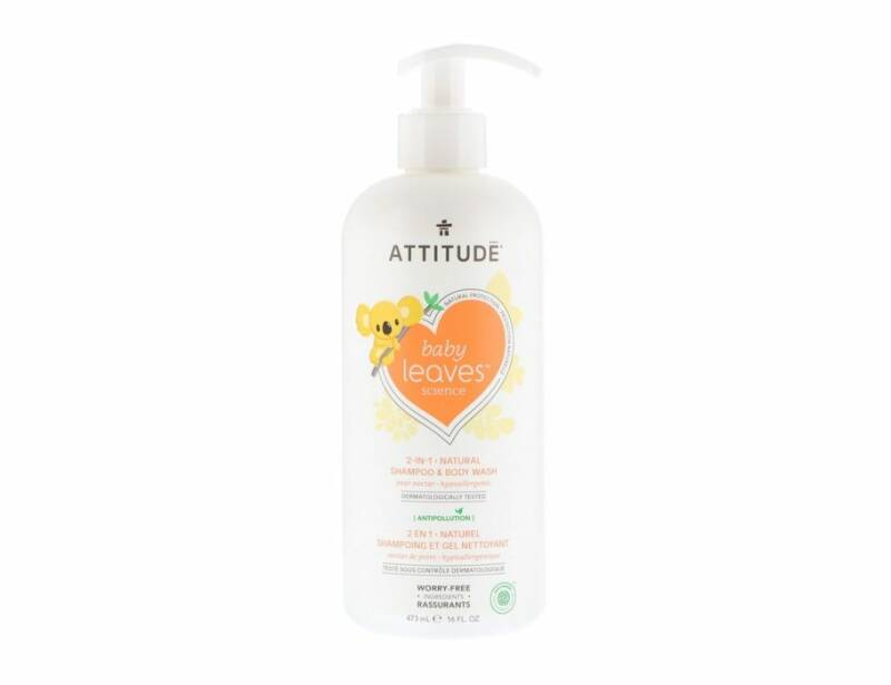 Baby 2 in 1 Shampoo - Bodywash - Peer | Attitude Baby Leaves