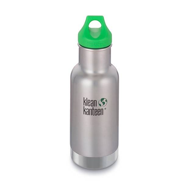 Kid Kanteen geïsoleerd - Brushed - 355 ml | Klean Kanteen