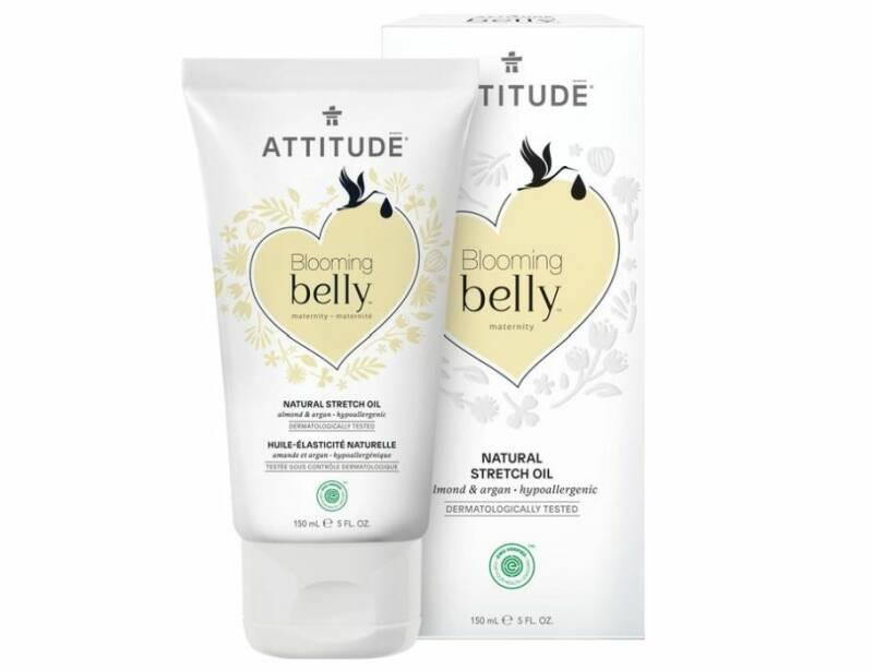 Anti striae olie - Almond en Argan | Attitude - Blooming Belly
