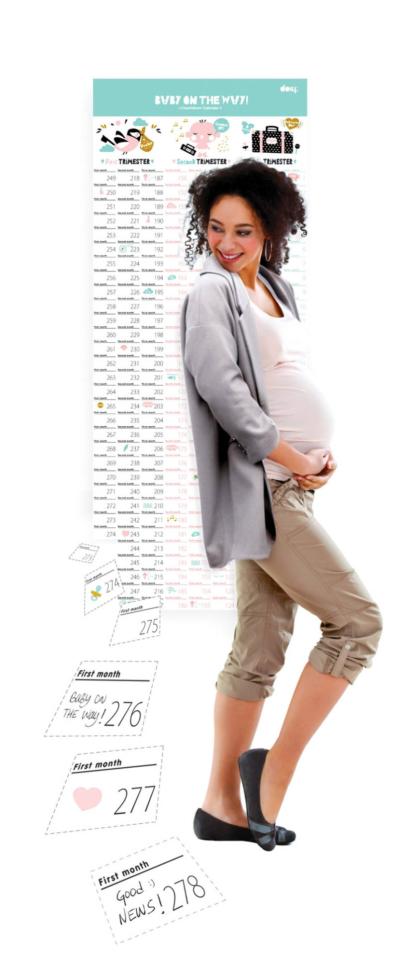 Baby on the way kalender