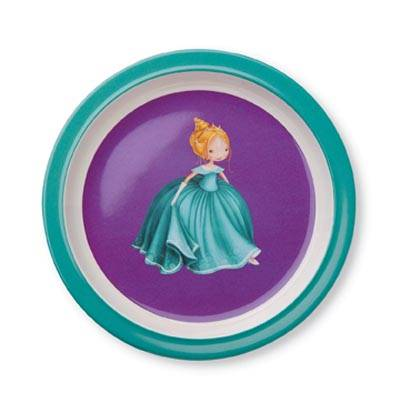 "Crocodile Creek melamine bord ""prinses"""