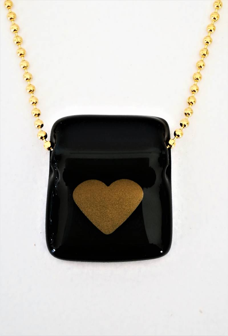 KETTING HEART OF GOLD