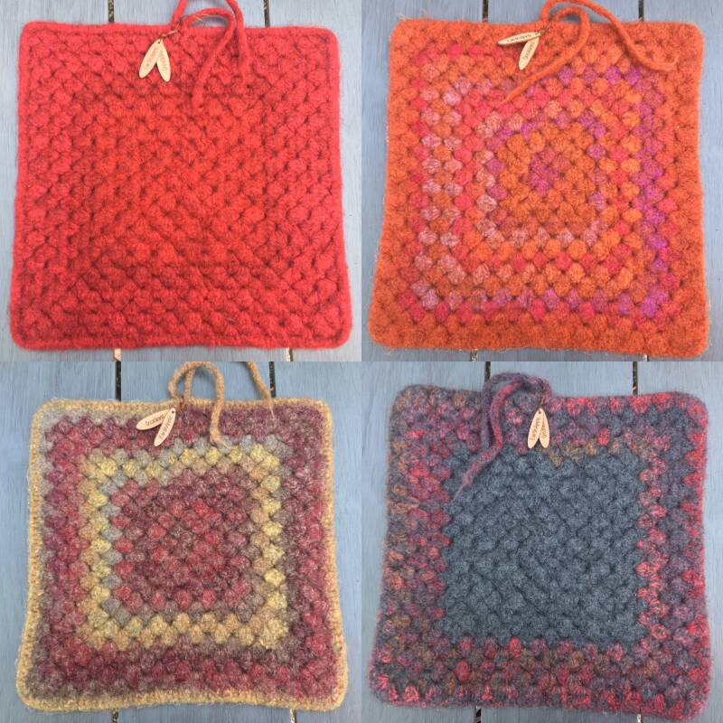 Seats, SitMats - red / orange, moistproof