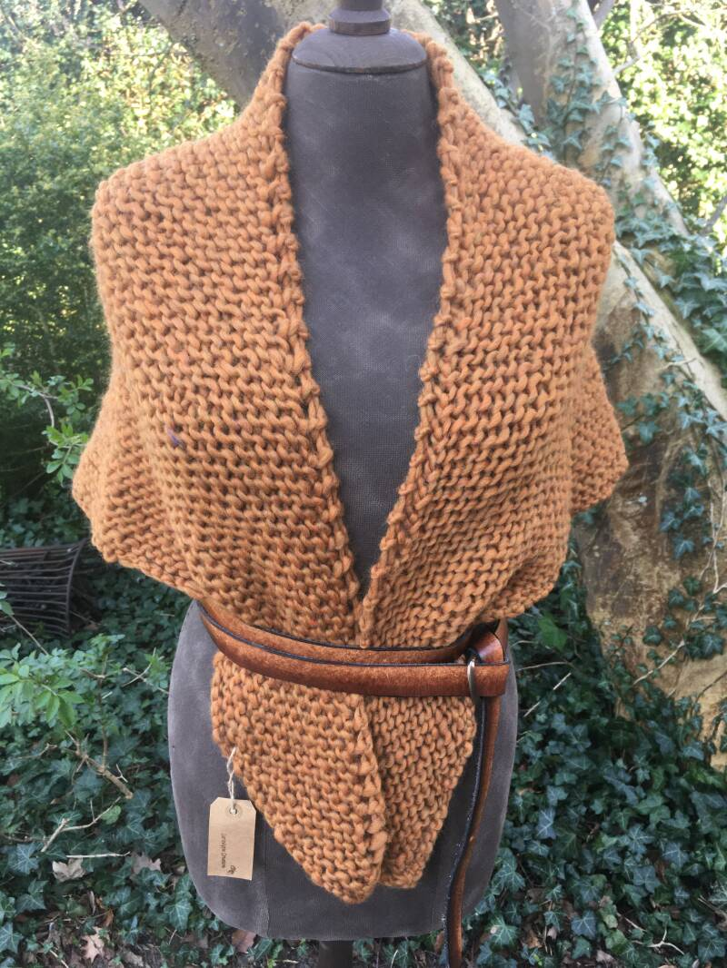 Outlander - Claire's Shawl, caramel