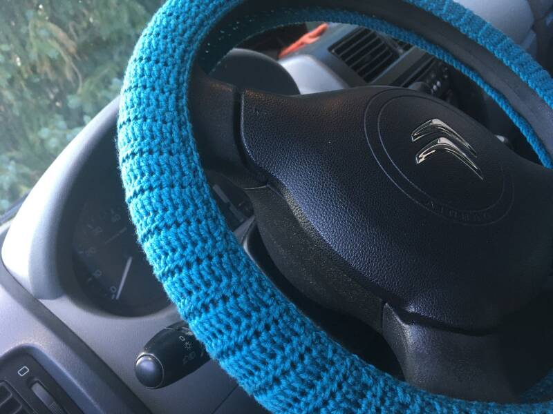 Steering Wheel Cover - turquoise