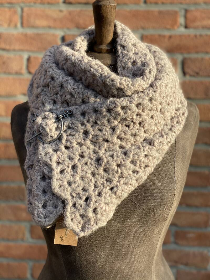 Hope - Light Greige (grey-beige) w/ silk