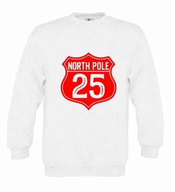 Kerst sweater NORTH POLE 25