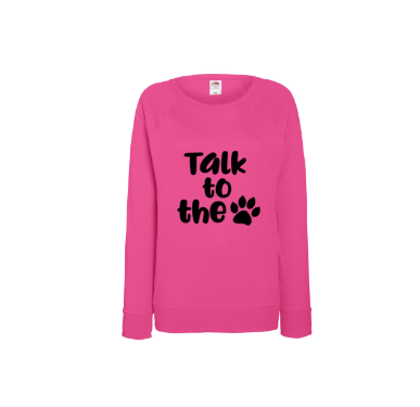 Sweater Talk to the paw