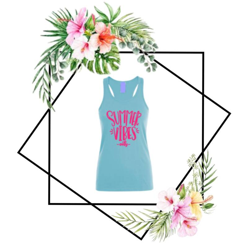 Dames tanktop Summer Vibes Only