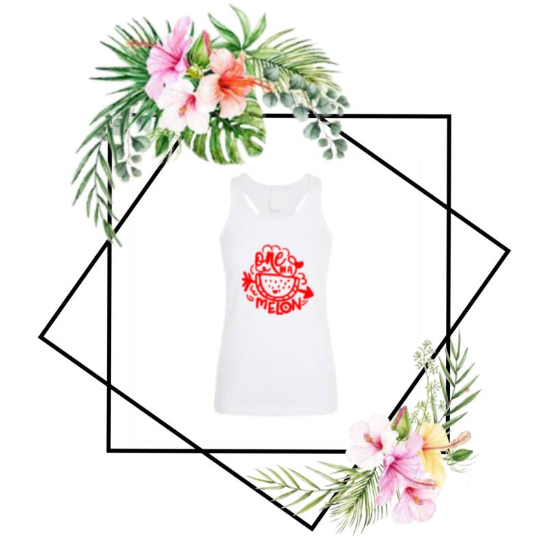 Dames tanktop One in a melon