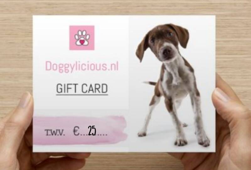 Giftcard t.w.v 25euro