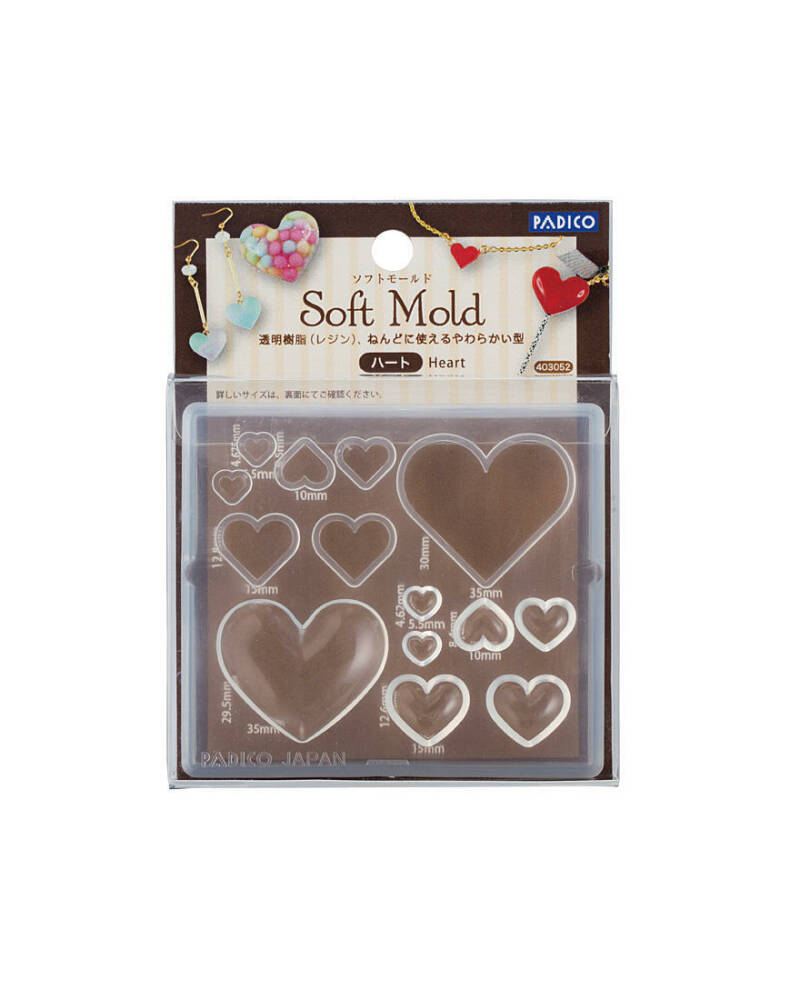 Soft mold Heart ML052