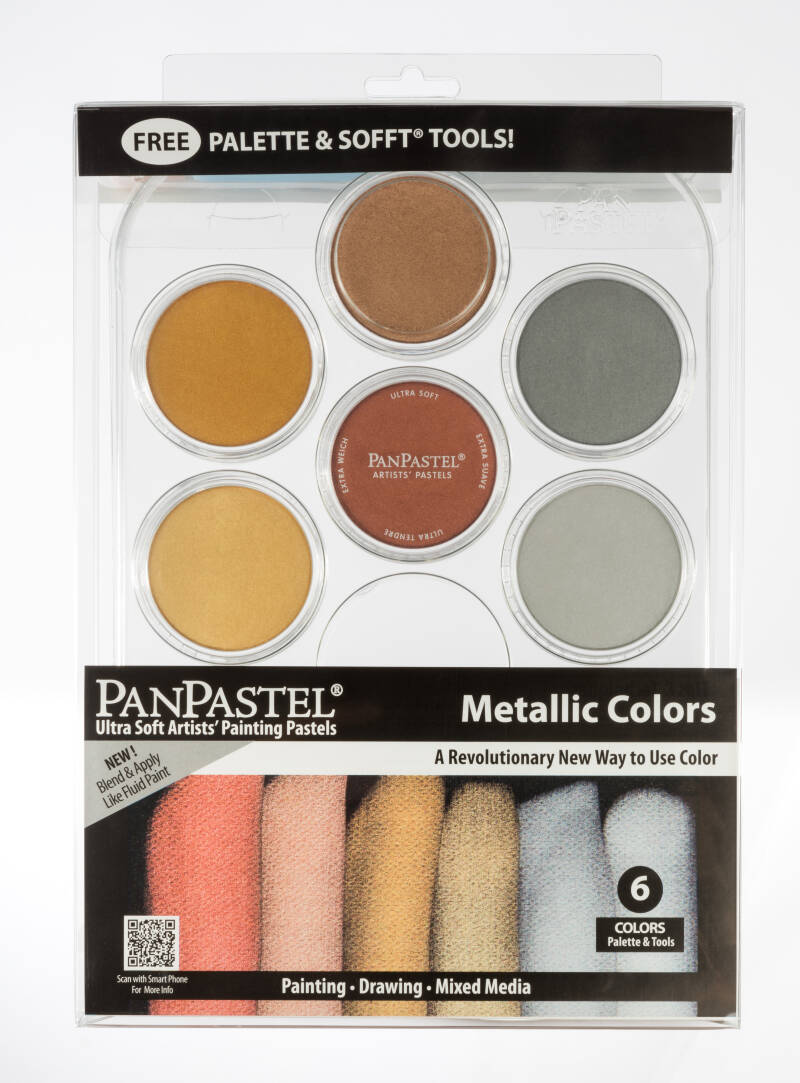 PanPastel Metallic Starter Kit 30077