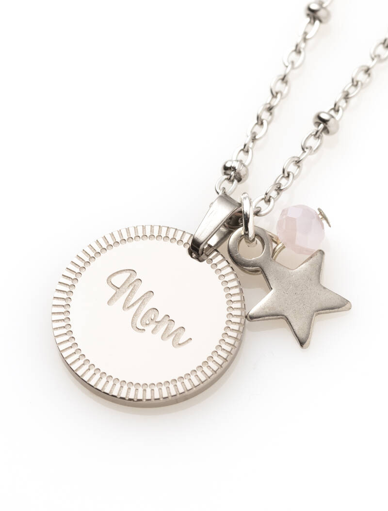 Ketting - Zilver - Mom you are a Star ✰