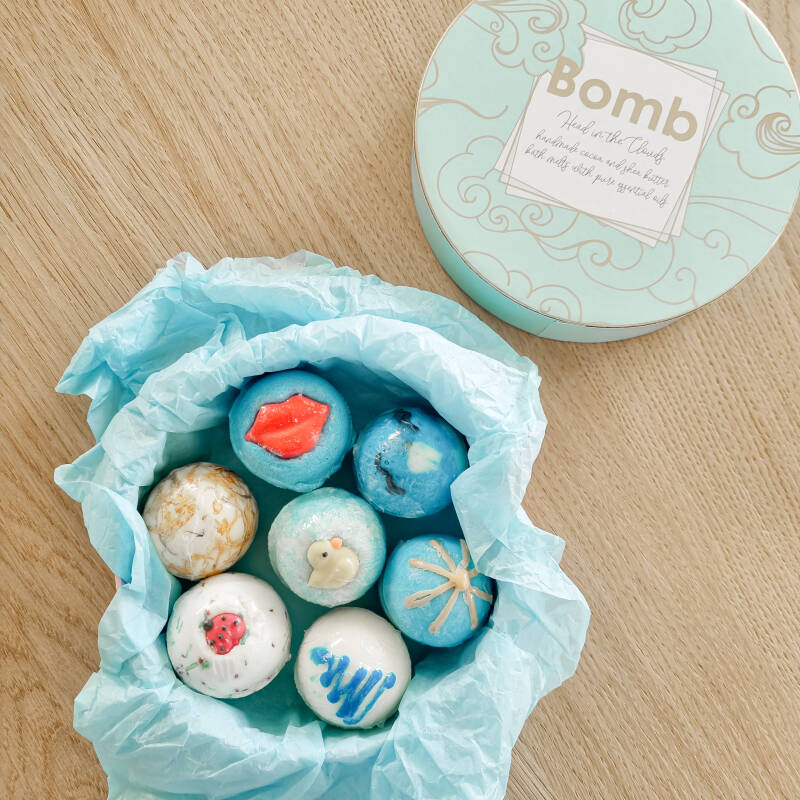 Bath creamers gift box 'Head in the Clouds'
