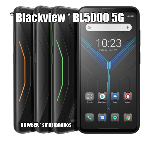 * BLACKVIEW * BL5000   5G Gaming smartphone   6.36 inch   OCTA core   8/128gb   Android 11   5.280 mAh