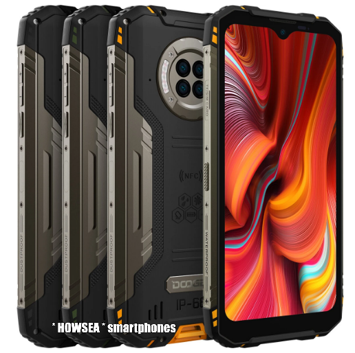 * DOOGEE * S96 pro | NO extra tax for EU | 6.22 inch IP68 rugged smartphone | OCTA core | 8/128gb | 6.350 mAh | FREE : Back case