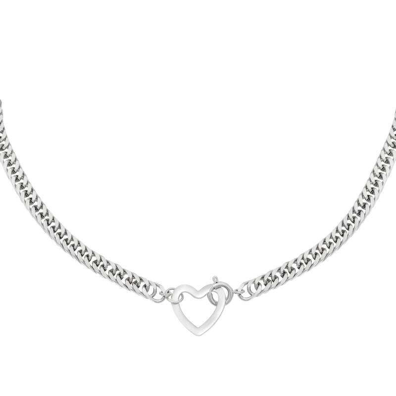 Ketting lovely - Zilver