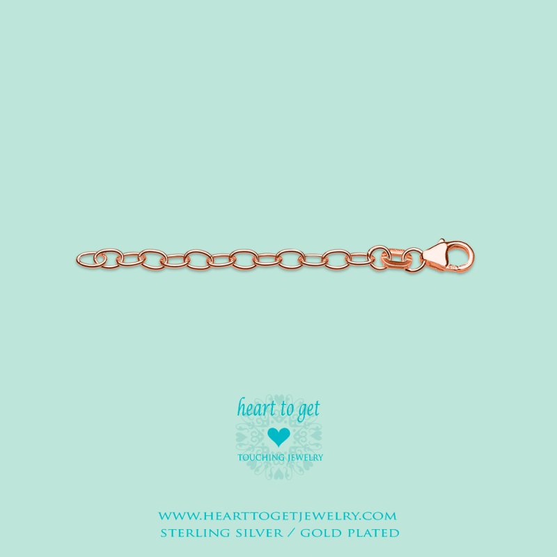 Heart to Get Extension Rosegold
