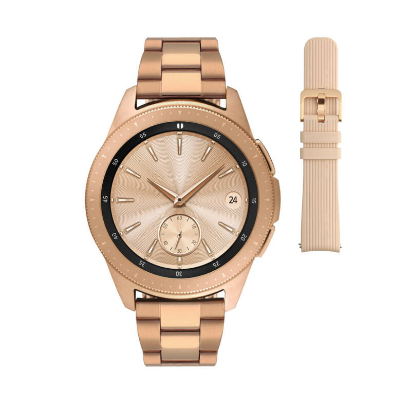 Samsung Galaxy 2 Special Edition Rosegold 42mm Smartwatch SA.R810RS