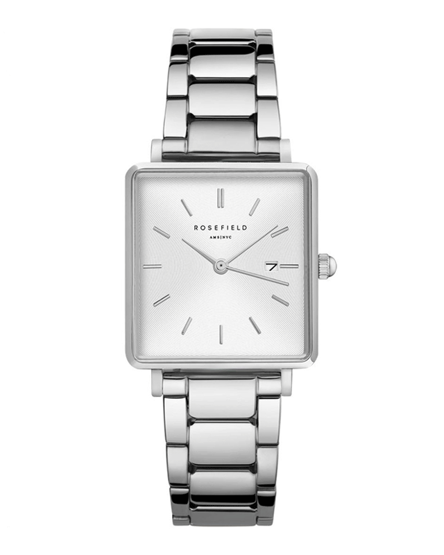 The Boxy White Sunray Steel Silver QWSS-Q042