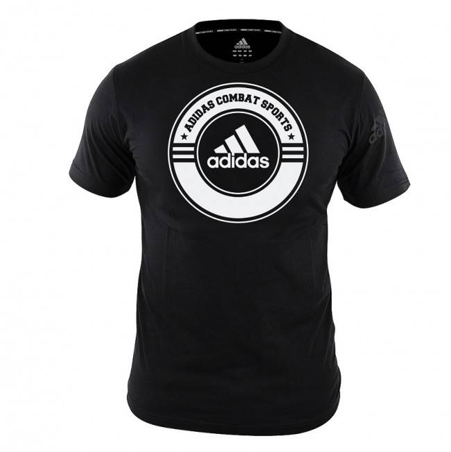 Adidas T-shirt Combat Sports Kids | Zwart/Wit