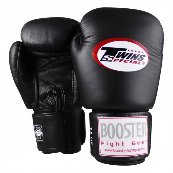Booster Fight Gear Bokshandschoenen Booster x Twins | Zwart