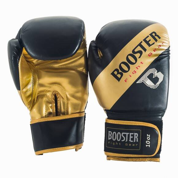 Booster Fight Gear Bokshandschoenen Sparring | Zwart/Goud