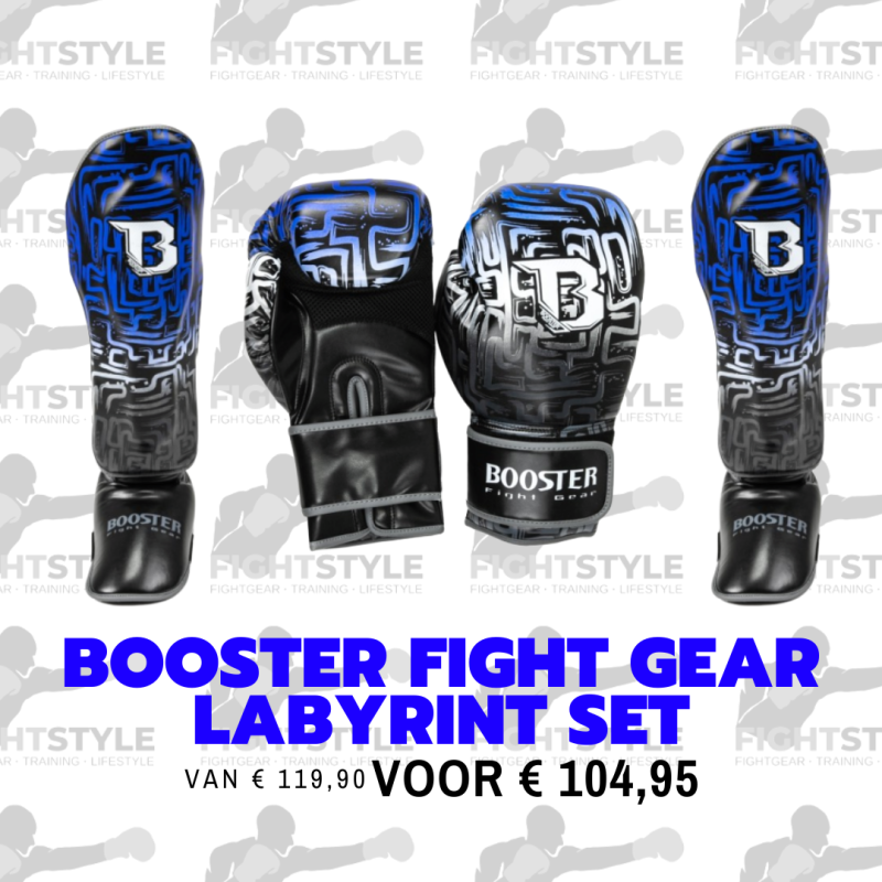 Booster Fight Gear Labyrint Set | Blauw