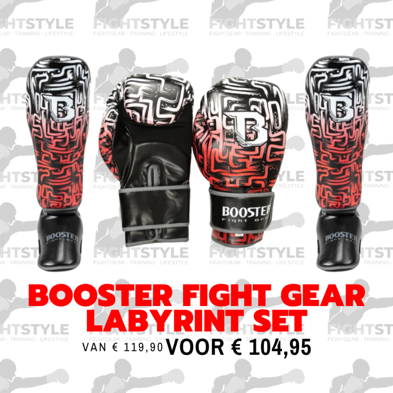 Booster Fight Gear Labyrint Set | Rood