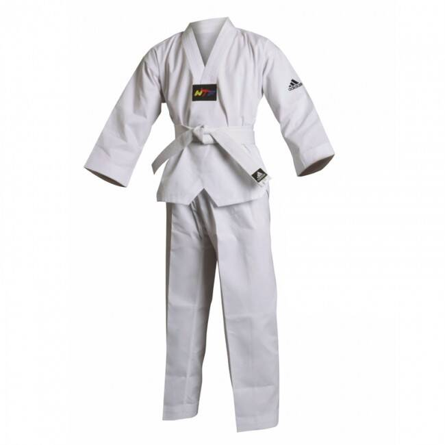 Adidas Dobok ADI-Start WTF Approved incl. band | Wit