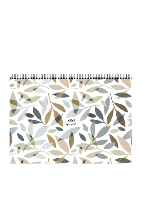 Bruna Familieplanner 2021 A4 Nature