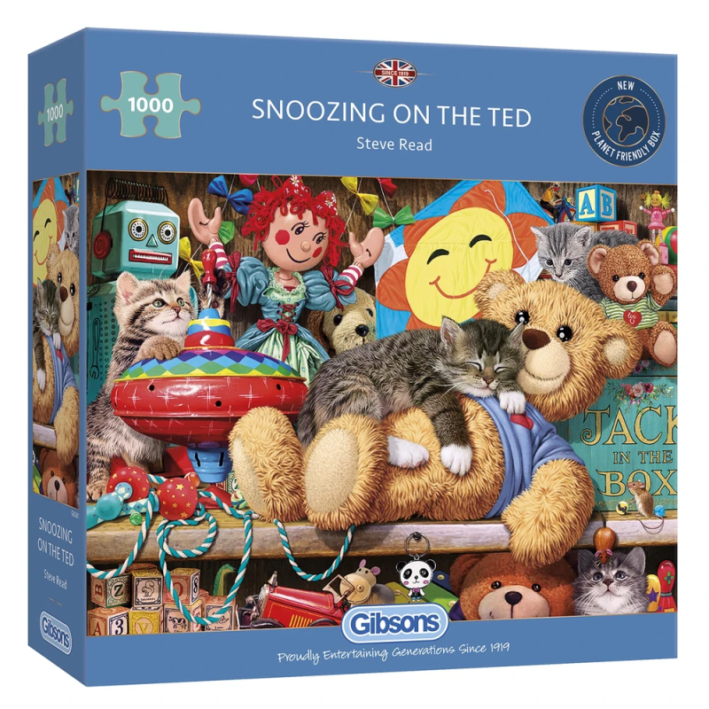 1000 Gibsons - Snoozing on the Ted