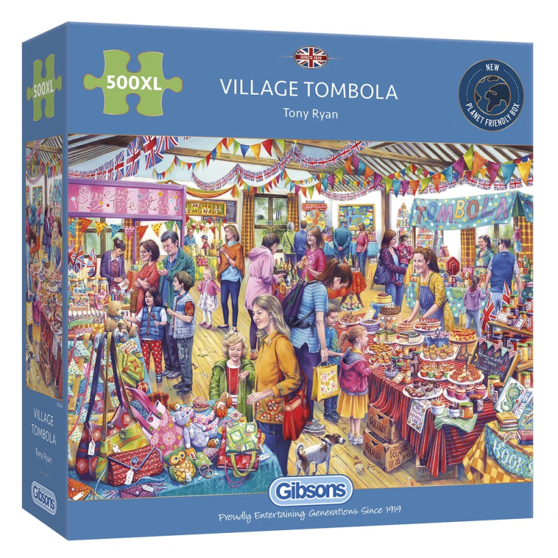 1000 Gibsons - Village Tombola