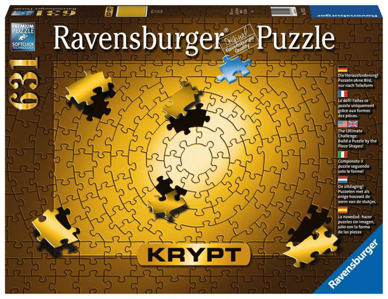 631 Ravensburger - Krypt gold