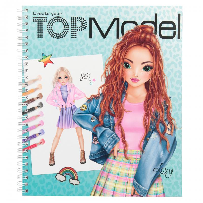 Create your TOPModel kleurboek