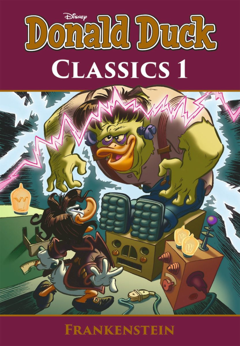 Donald Duck Pocket Classics 01. Frankenstein